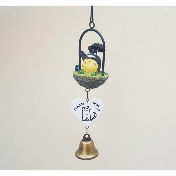 Adorno Totoro colgante con campanita