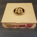 Set de 7 esferas 4.3cms Edición Azul, con caja y base de mdf