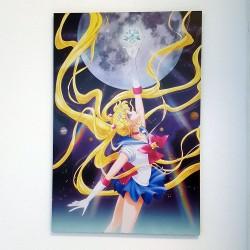 Cuadro Sailor moon con la mano arriba 40x60cms