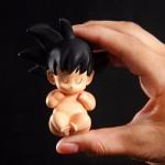 Figurita Goku bebe de 8cms
