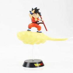 Figura Goku en la Nube 26cm de alto traje rojo