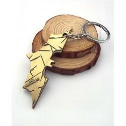 Llavero batarang Dorado (batman)