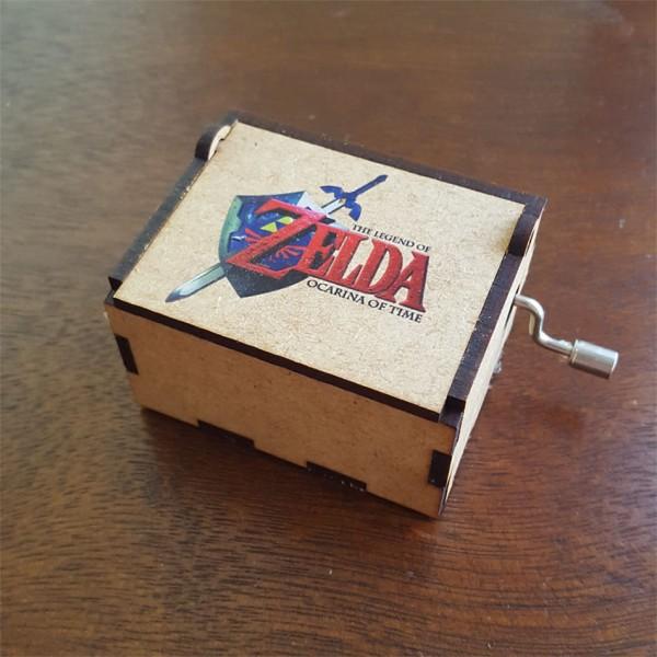Cajita musical Zelda canción de la tormenta (ocarina del tiempo)