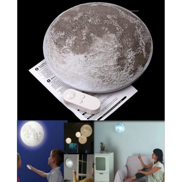 Lampara de luna con control remoto