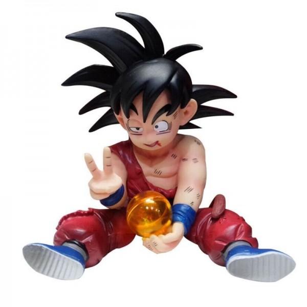 Figura Goku niño después de la pelea