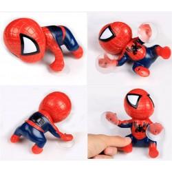 Figura de spiderman 13cms con ventosa